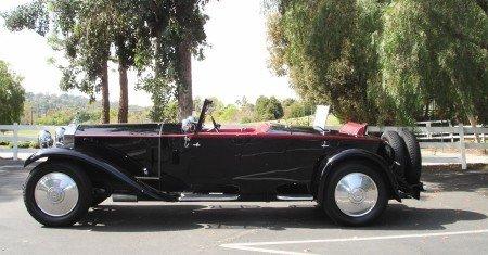 1930 rolls royce phantom ii boattail