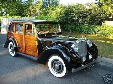 1947 alvis ta14 aeroback woody wagon