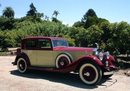 1932 rolls royce close coupled sport limousine