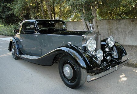 1935 rolls royce close coupled coupe