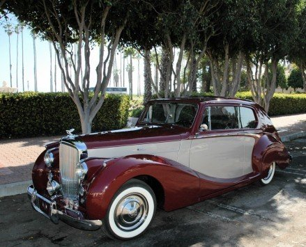 1949 bentley mark vi coupe