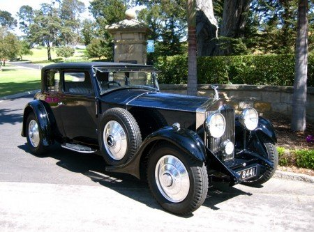 1930 rolls royce phantom ii sport coupe