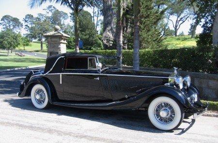 1935 rolls royce phantom ii allweather 3 position drophead tourer