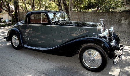 1936 rolls royce 25 30 long chassis coupe