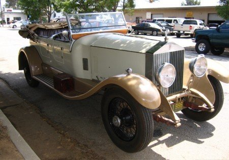 1927 rolls royce phantom i tourer