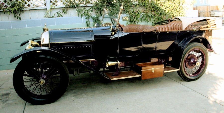 1914 peugot 14ss torpedo tourer