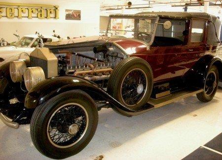 1926 rolls royce silver ghost salamanca