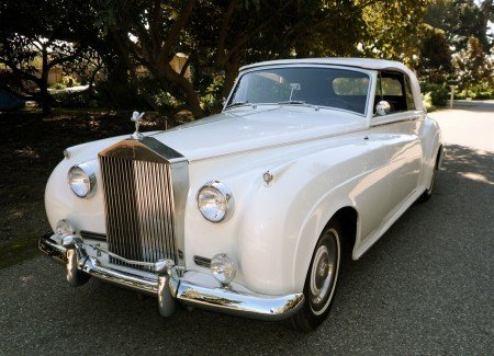 1960 rolls royce silver cloud ii convertible