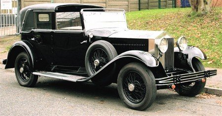 1929 rolls royce phantom i transformable