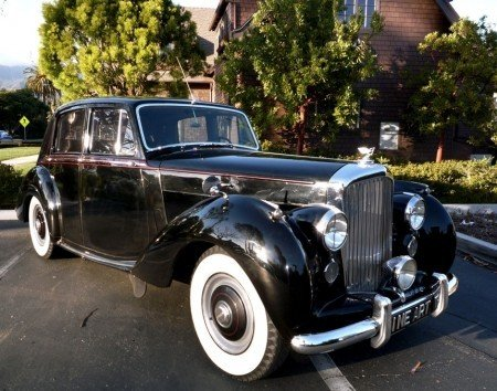 1953 bentley r type sport sedan