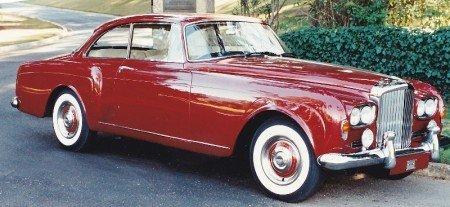 1963 bentley s3 continental convertible