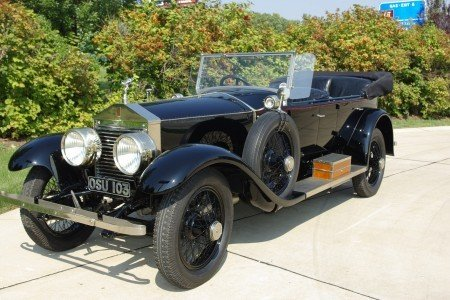 1920 rolls royce silver ghost pall mall tourer