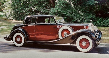 1937 rolls royce phantom iii close coupled coupe