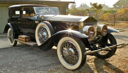 1925 rolls royce silver ghost riviera
