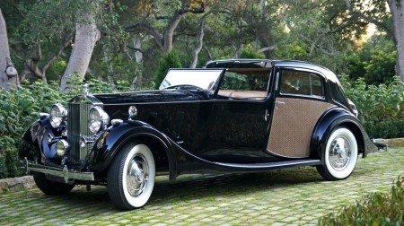 1937 rolls royce phantom iii sedanca de ville