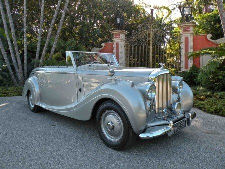 1949 bentley mark vi drophead coupe