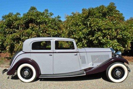 1934 rolls royce 20 25 sport saloon