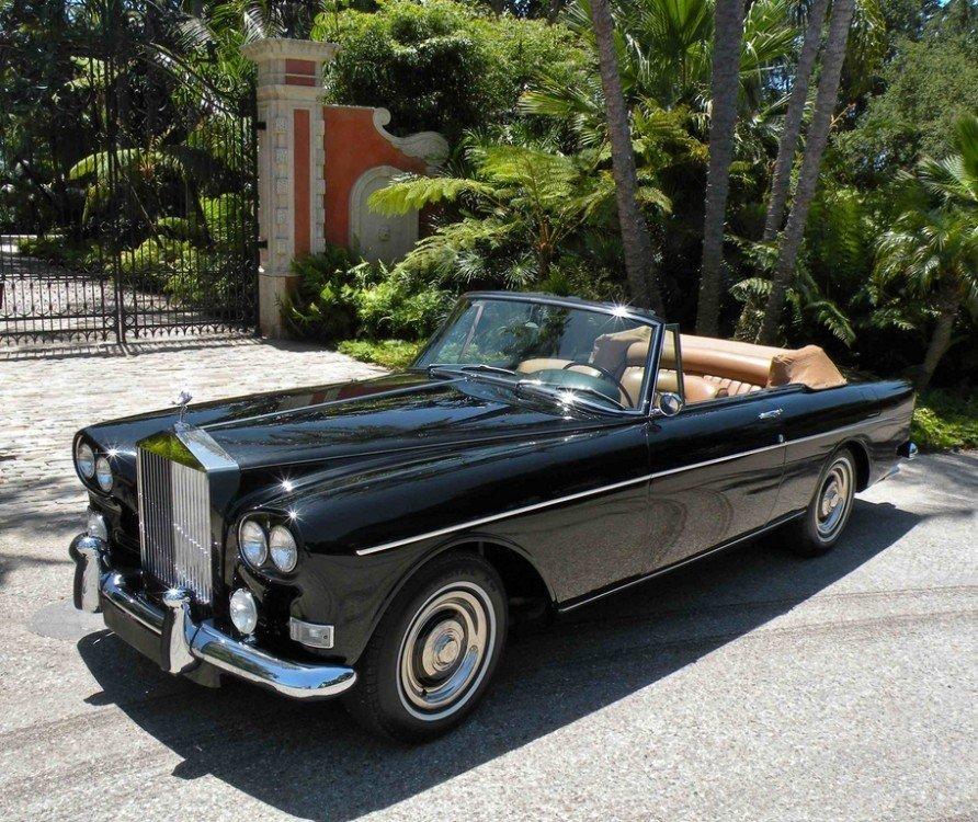 1966 rolls royce silver cloud iii continental convertible