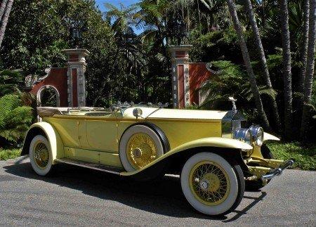 1928 rolls royce phantom i ascot dual cowl