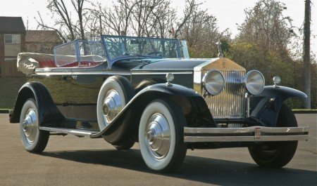 1931 rolls royce phantom i 7 passenger dual windscreen