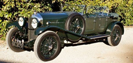 1929 bentley 4 1 2 litre dual cowl