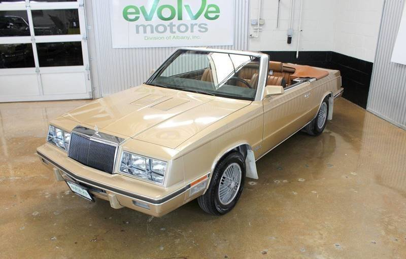 1984 chrysler le baron mark cross 2dr convertible
