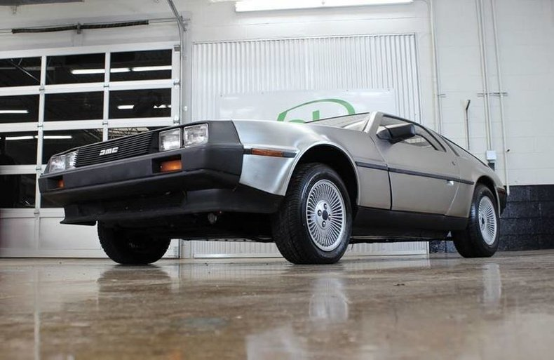 For Sale 1981 DeLorean DMC-12