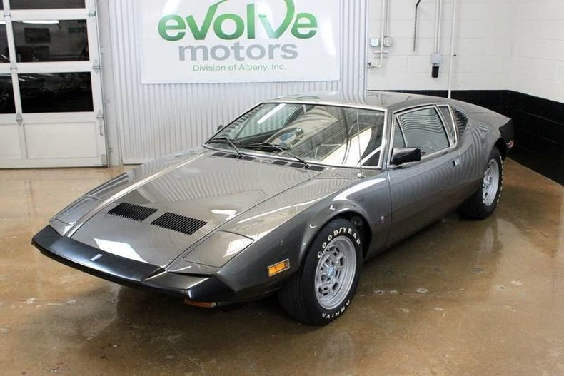 For Sale 1973 De Tomaso Pantera