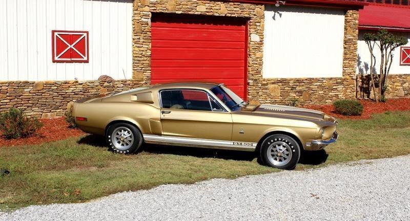 1968 ford shelby gt500