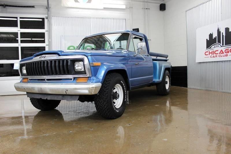 1982 jeep j 10 pickup 2dr townside 4wd standard cab sb