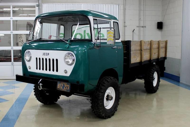 1960 jeep fc 170