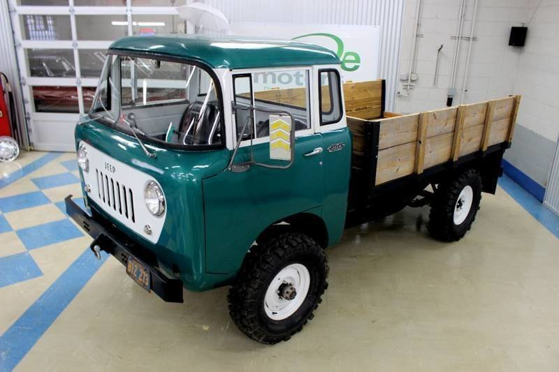Jeep Fc For Sale >> 1960 Jeep Fc 170 For Sale 81988 Mcg