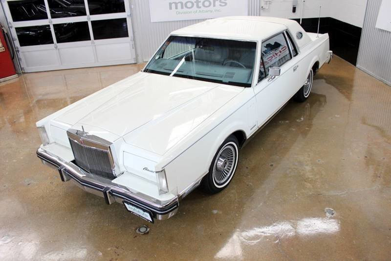 1983 lincoln mark vi 2dr coupe