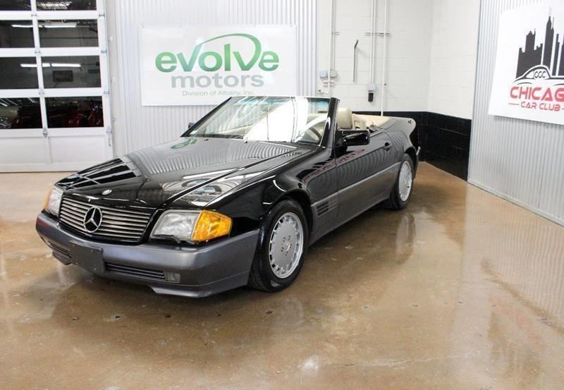 1991 mercedes benz 300 class 300 sl 2dr convertible