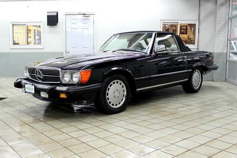 1986 mercedes benz 560 class