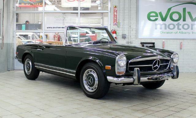 1968 mercedes benz 280 class