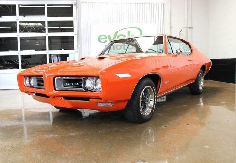 For Sale 1968 Pontiac GTO