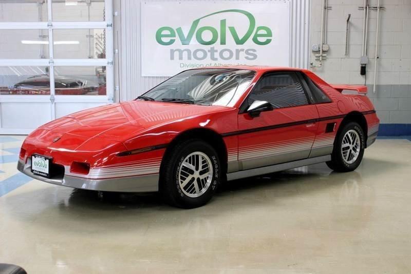 1985 pontiac fiero gt 2dr coupe
