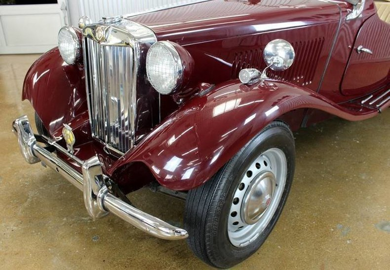 For Sale 1952 MG TD