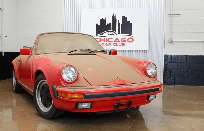 1984 porsche 911 carrera 2dr convertible