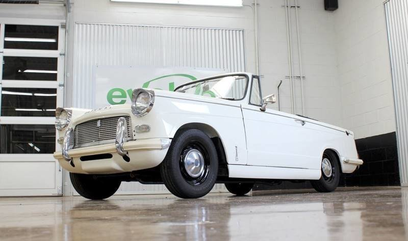 1965 triumph herald convertible