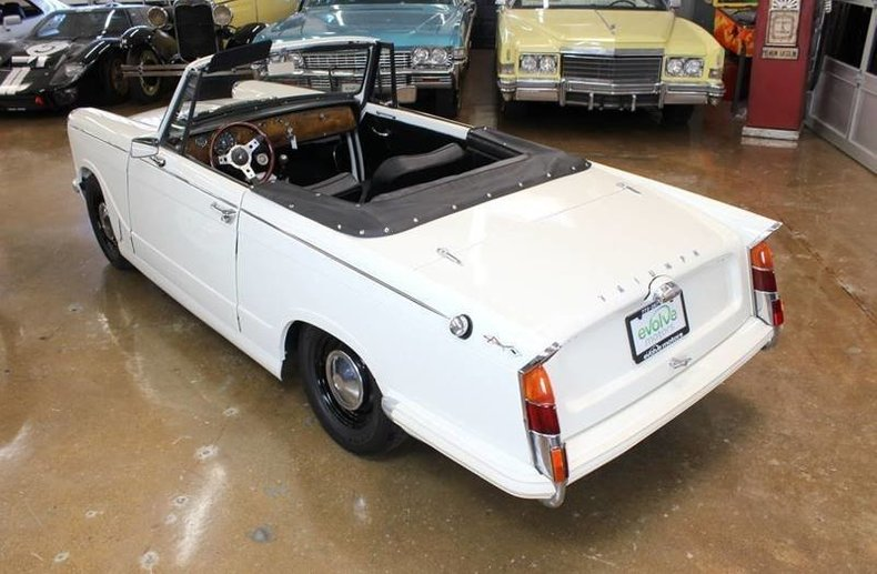For Sale 1965 Triumph Herald Convertible