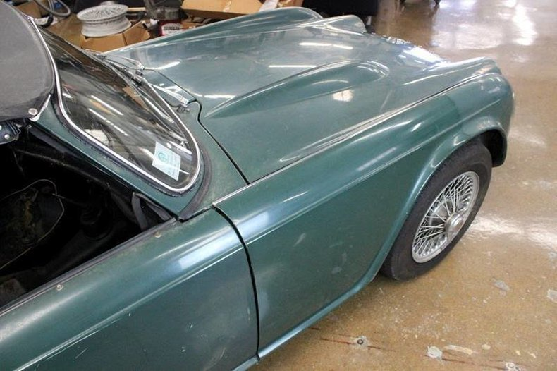 For Sale 1963 Triumph TR4