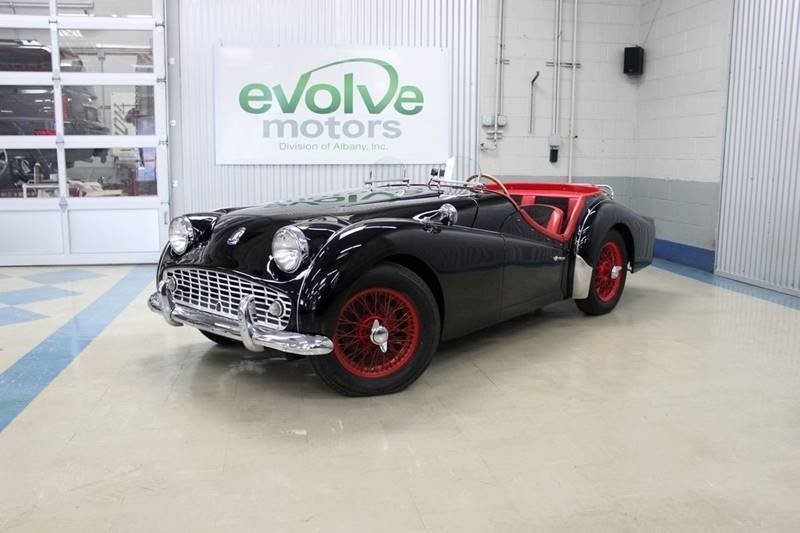 1960 triumph tr3 a