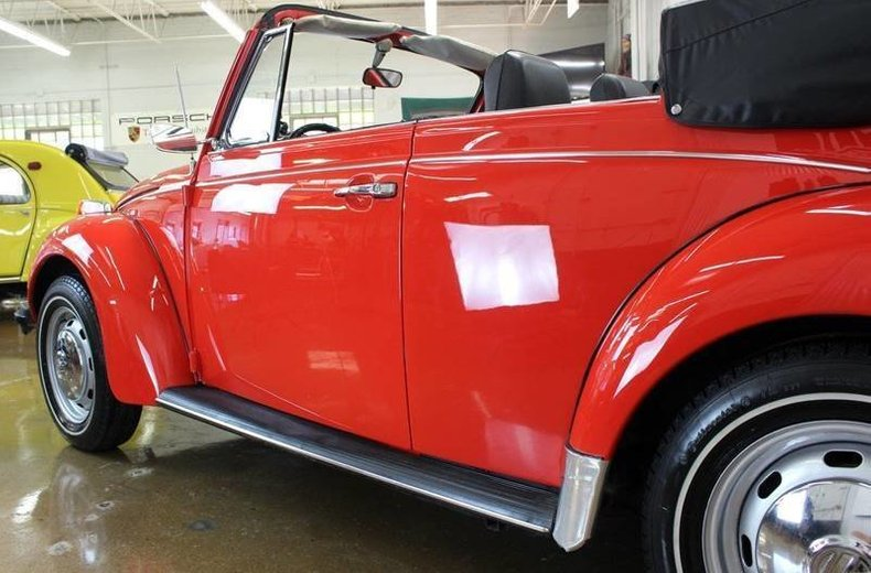 For Sale 1976 Volkswagen Beetle Convertible