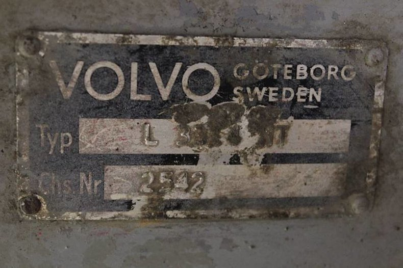 For Sale 1967 Volvo L3314 HT