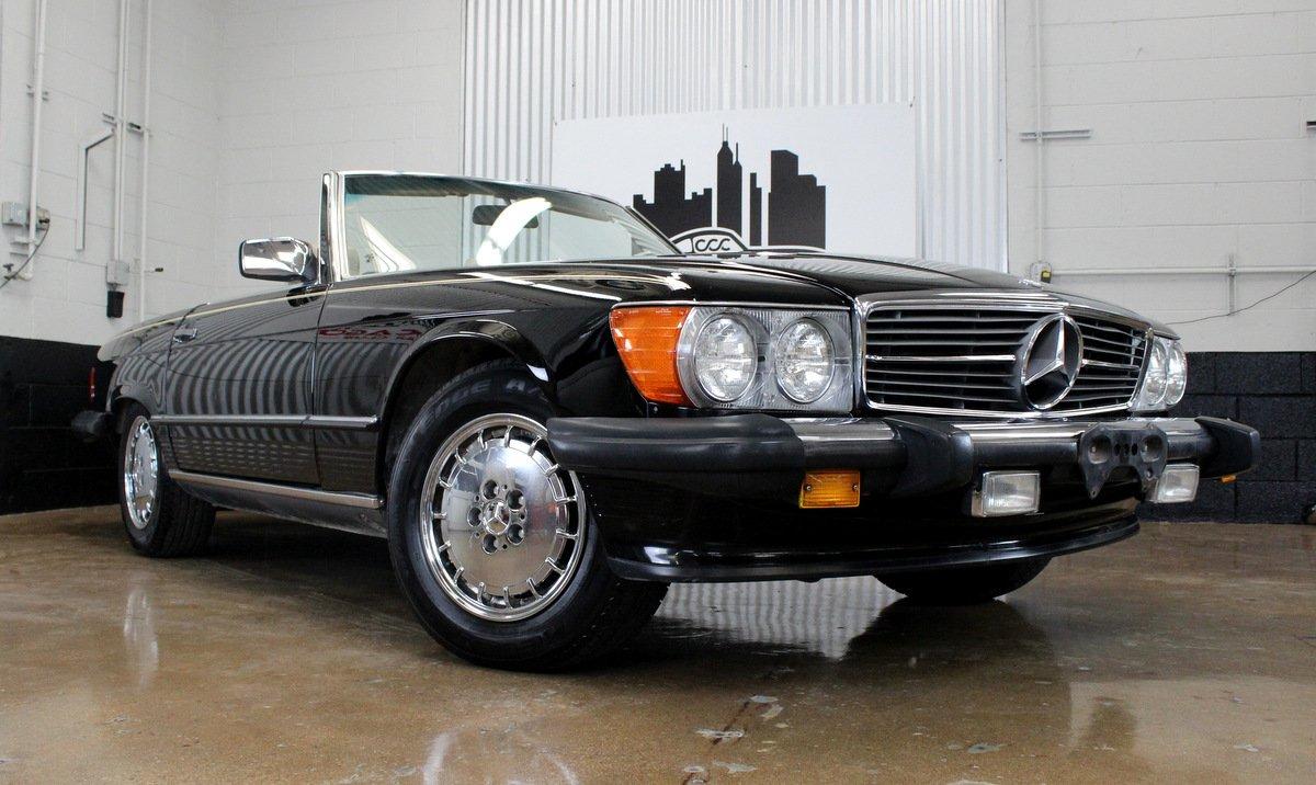 1987 mercedes benz 560 class