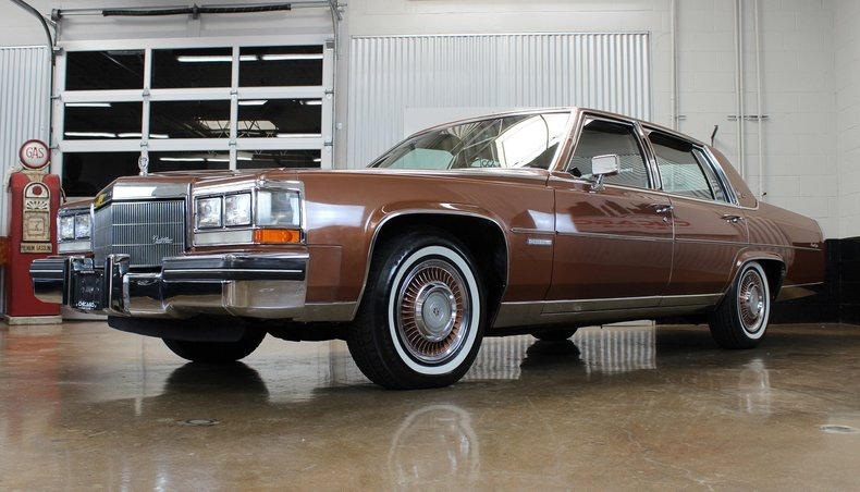 For Sale 1983 Cadillac Fleetwood Brougham