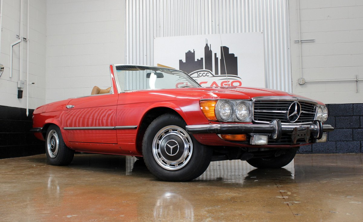 1972 mercedes benz 350sl