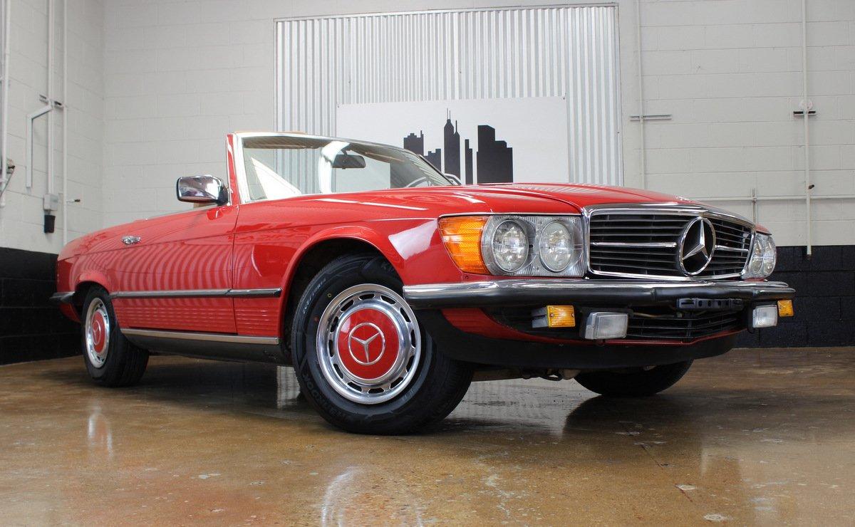 1985 mercedes benz 280sl euro